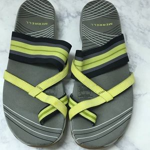 Merrell Neon Gray Shoes Sandals Size 9